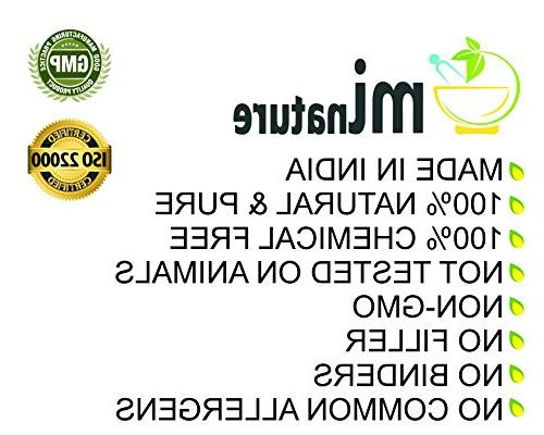 100% Organic Powder USDA mi nature - OZ g / lb Aloe   GMO