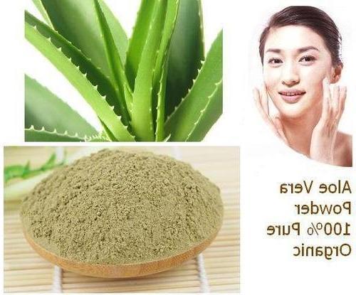 100% Powder USDA mi nature OZ Aloe     Non