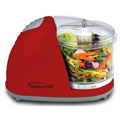 appliances mc 105 mini food chopper red