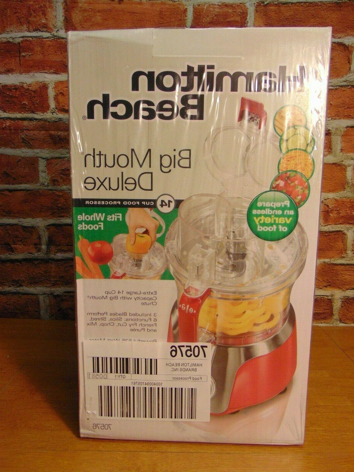 big mouth deluxe food processor