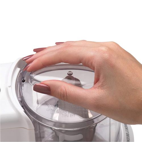 Black One Touch Electric Food Processor Kitchen 1/2 Cup