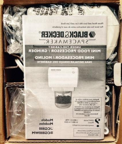 BLACK UNDER COUNTER COFFEE FOOD CG800WM