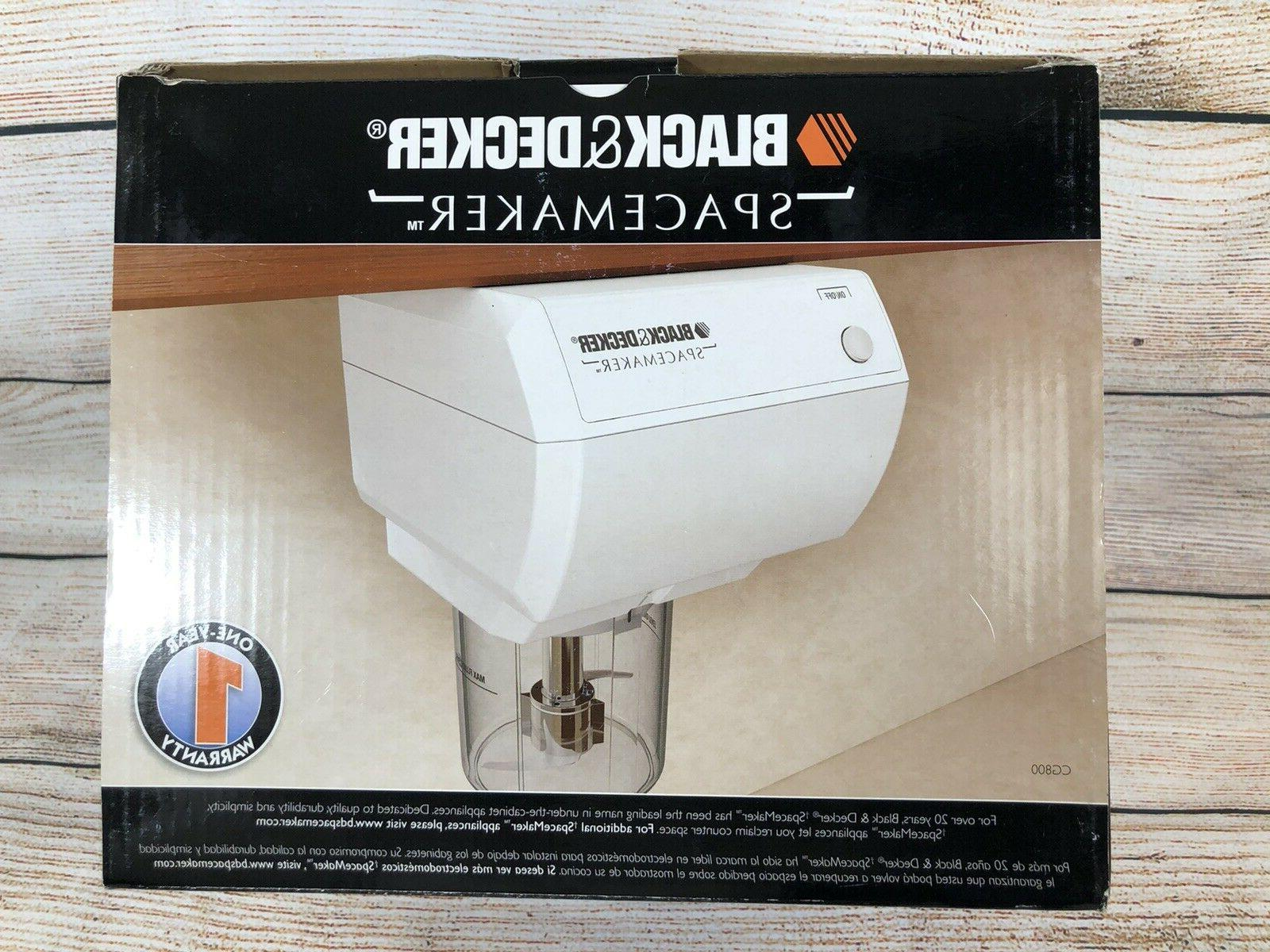 black and decker spacemaker under the cabiner