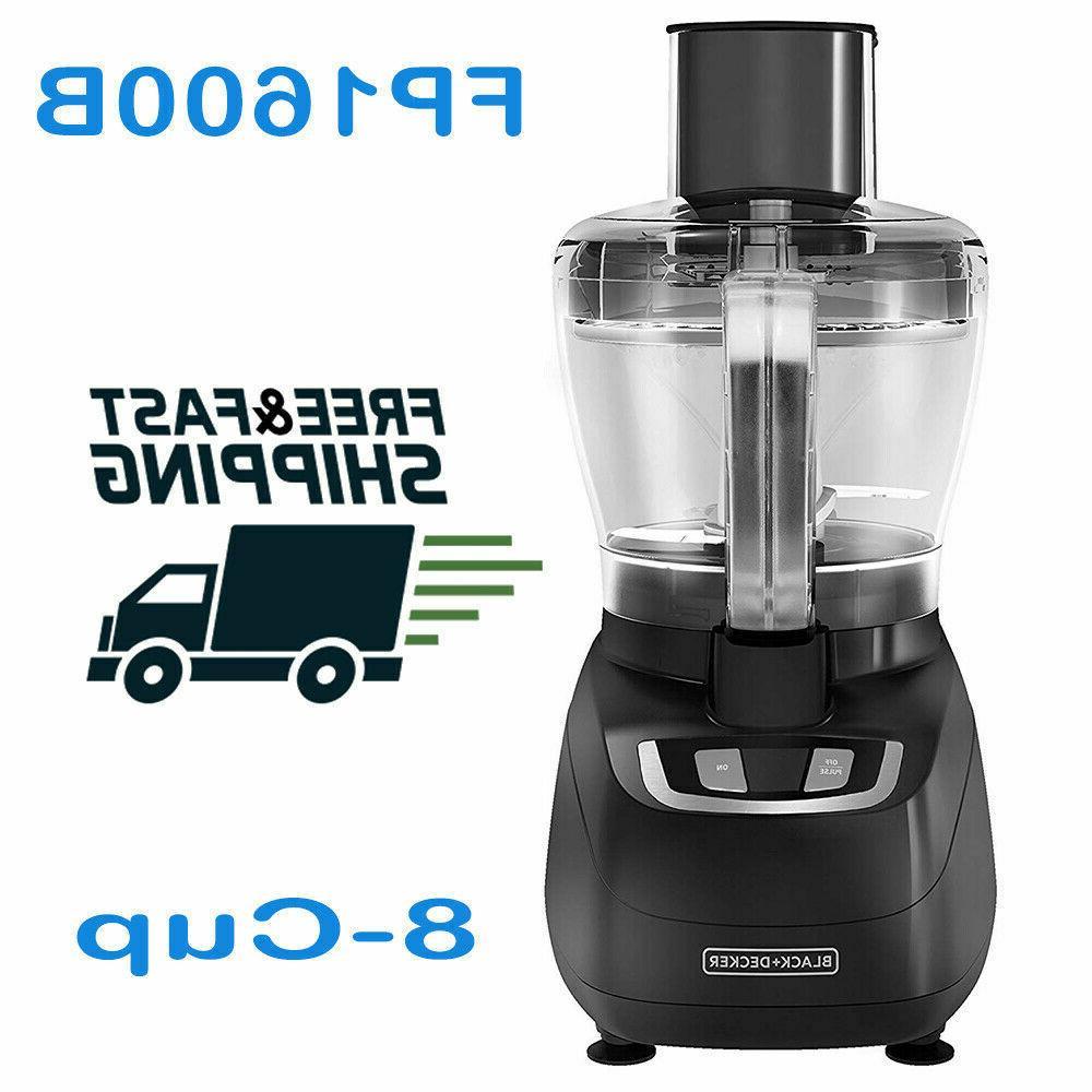 black decker fp1600b 8 cup food processor