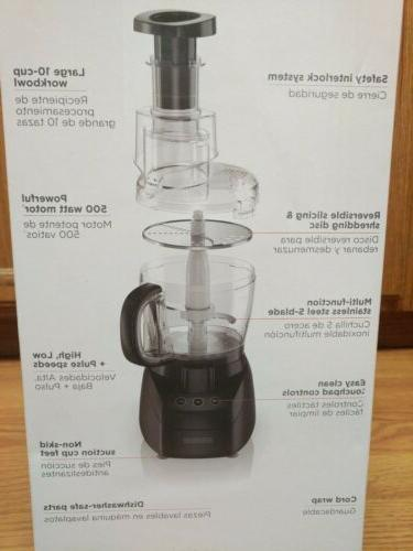 Black+Decker Traditional Cup Food Processor