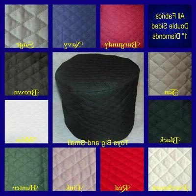 Black Quilted 9 Cup Processor Cover NEW