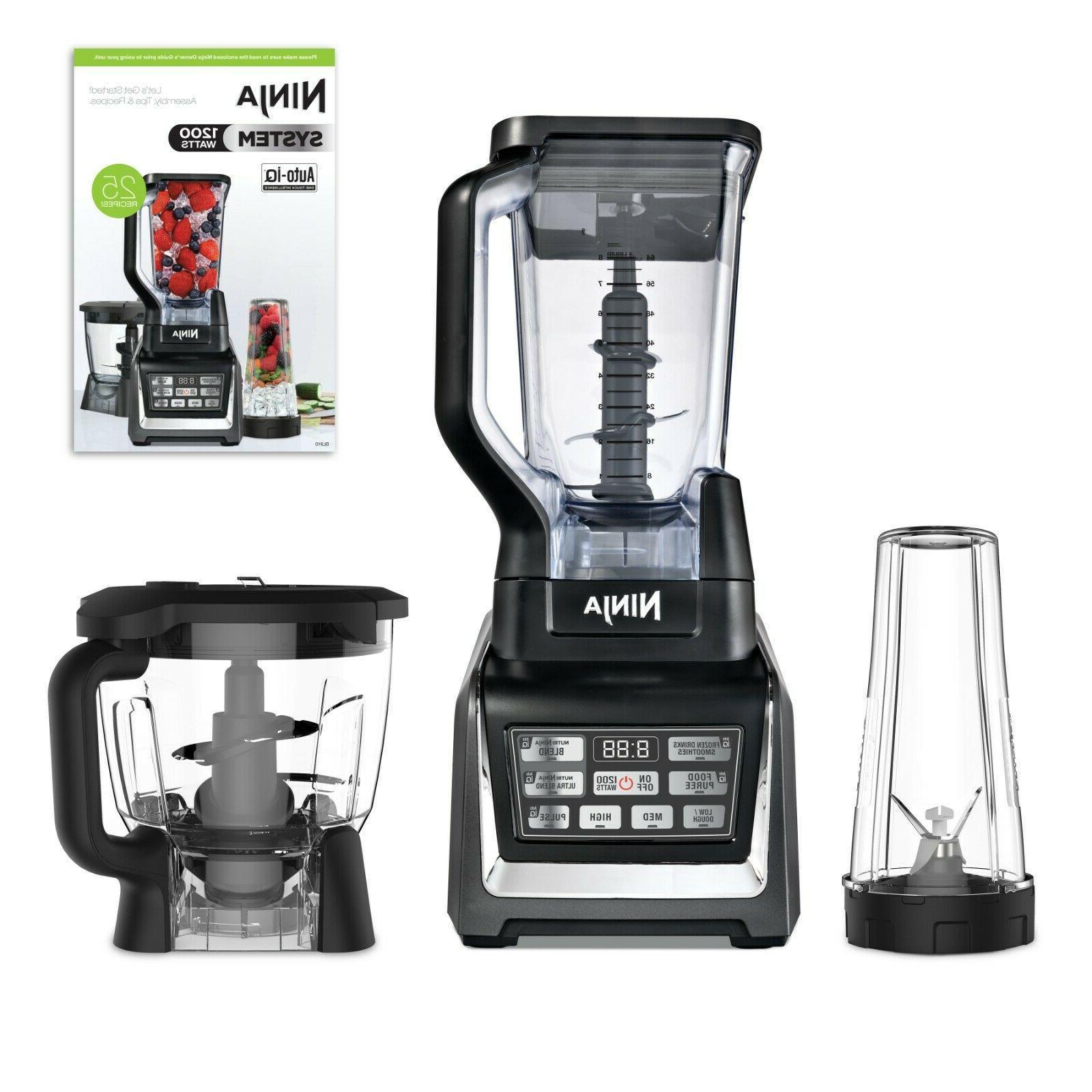 Blender oz Ninja Auto-iQ Kitchen System food