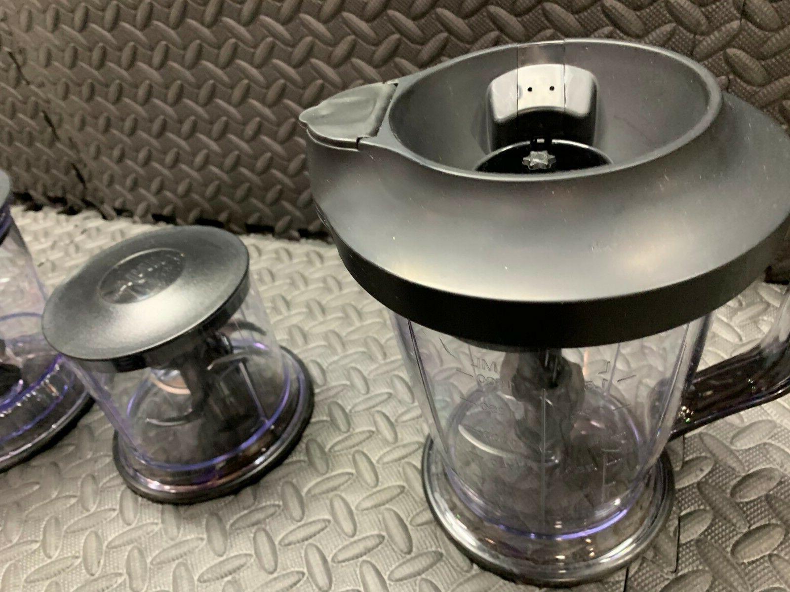 Ninja Blender/Food Processor 450-Watt Pitcher, 16oz Chopper