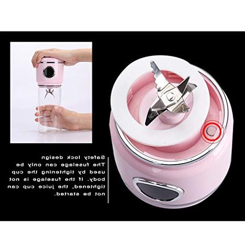 Blender Cup Rechargeable Electric Automatic Fruit Juice Cup Mixer