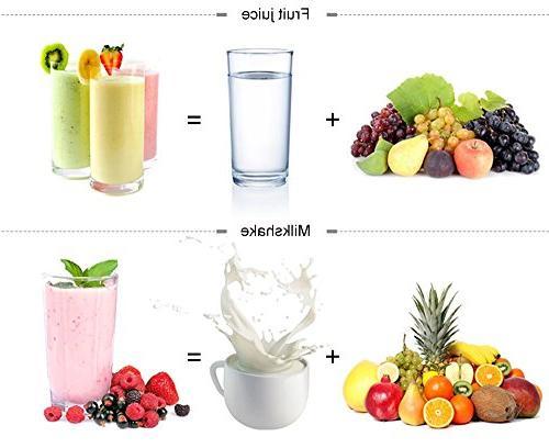 Professional UFire-MOOSHA Commercial Blender Performance Food Processor Ice, Fruit,