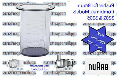 combimax 3202 3205 food processor pusher part
