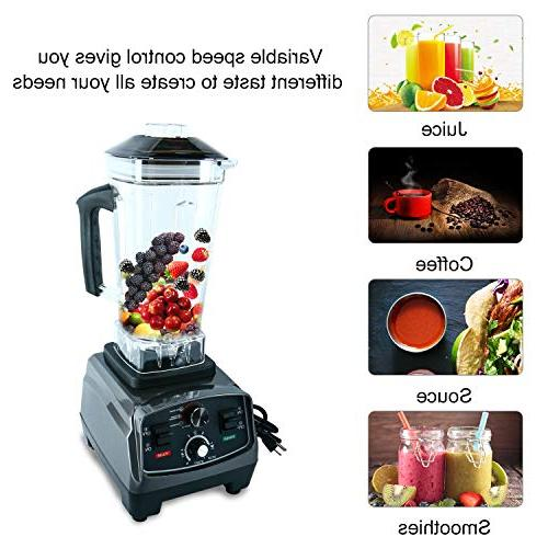 Homend 1400 Blender, Professional Kitchen Juicer Blenders and Smoothies with 67oz BPA-Free Pitcher,Commercial Heavy Duty Blender Food Soups,Nuts &