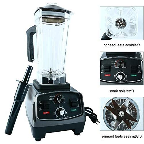 Homend Watt Blender, Professional Blenders Smoothies with 67oz Pitcher,Commercial Food Soups,Nuts