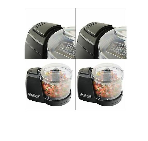 Compact Electric Processor Kitchen Chopper Safe