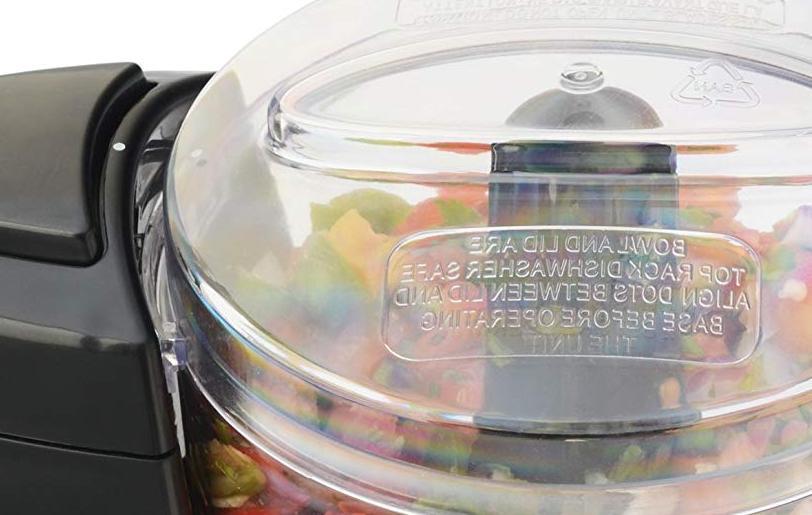 Compact Processor Kitchen Vegetable Safe Dishwashable