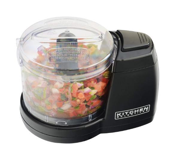 Compact Food Processor Safe Dishwashable