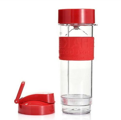 Cooks Companion Shake N/' Take 500W 2-in-1 Blending Bottle /& Food Processor Green