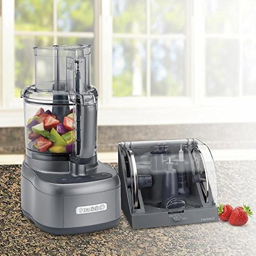 cuisinart elemental 11 cup food processor accessory storage