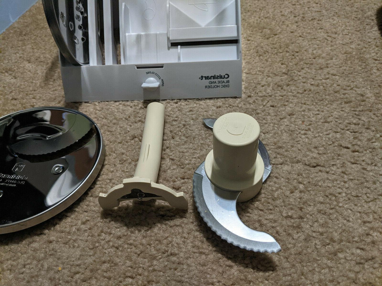 Cuisinart Custom 14-Cup Food Processor DFP-14BCN Blade Set