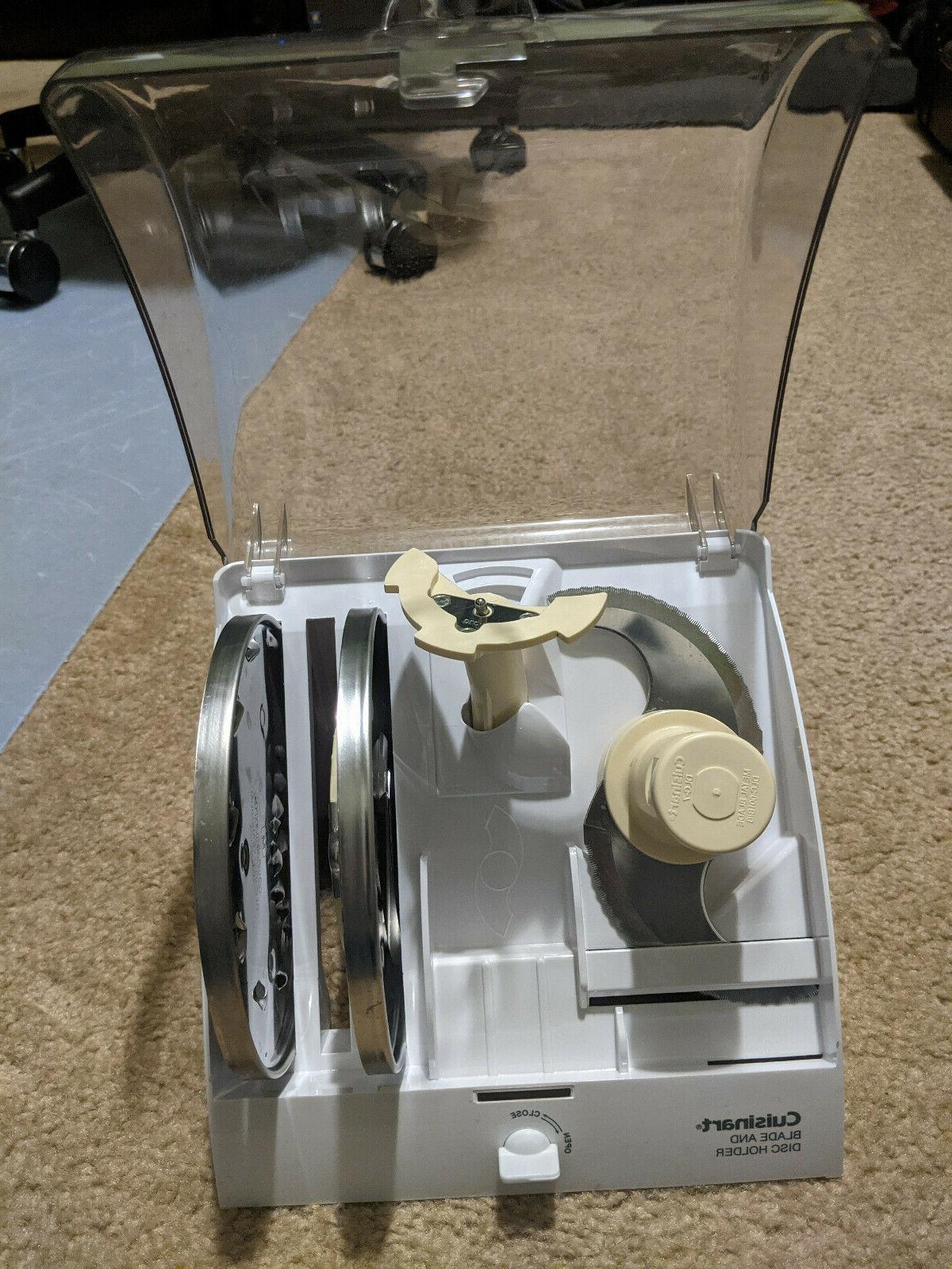 Cuisinart Custom 14-Cup Food Processor Brushed Blade Of