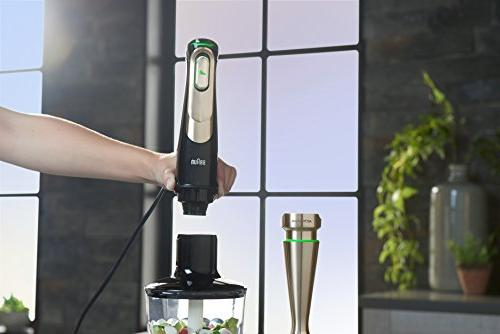 Braun MQ9097 Hand Blender, Black