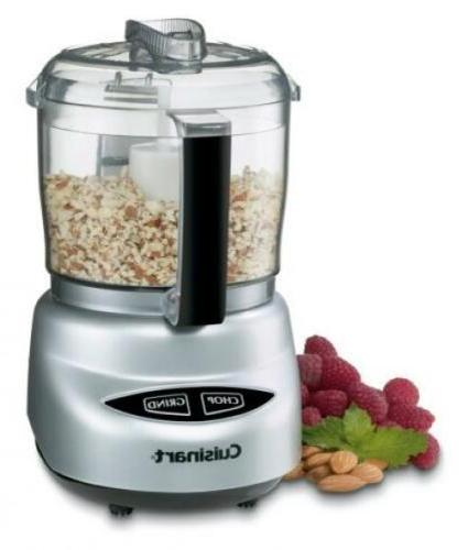 Cuisinart DLC-2ABC Mini Plus Processor Chrome and Nickel
