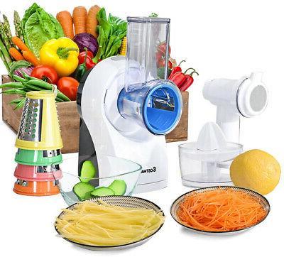 electric 3 in 1 food processor juicer
