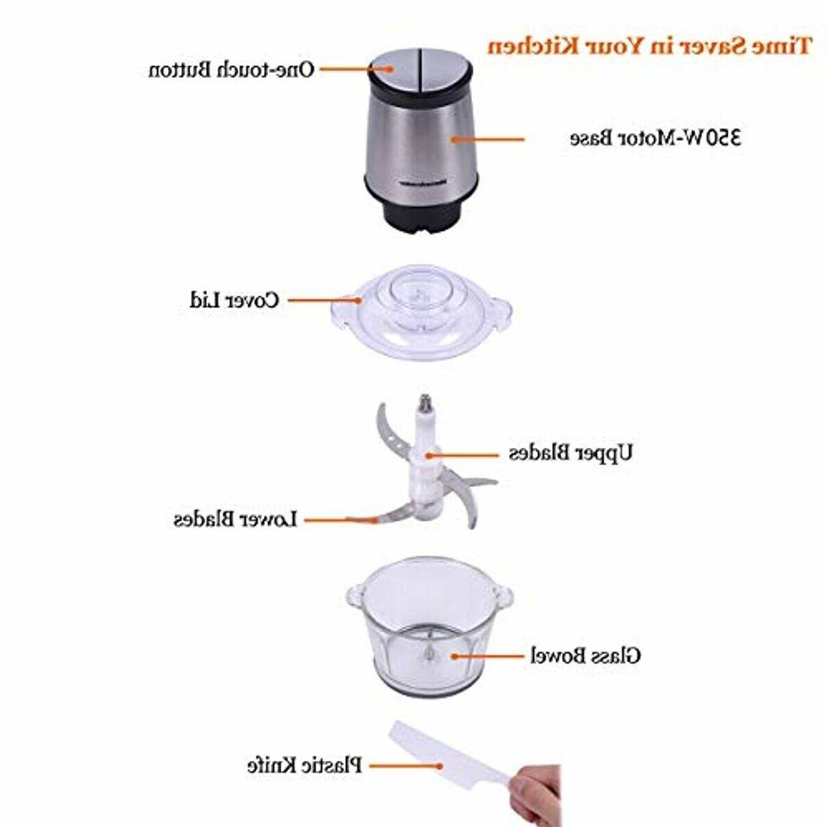 Electric Food Food Processor 2L BPA-Free