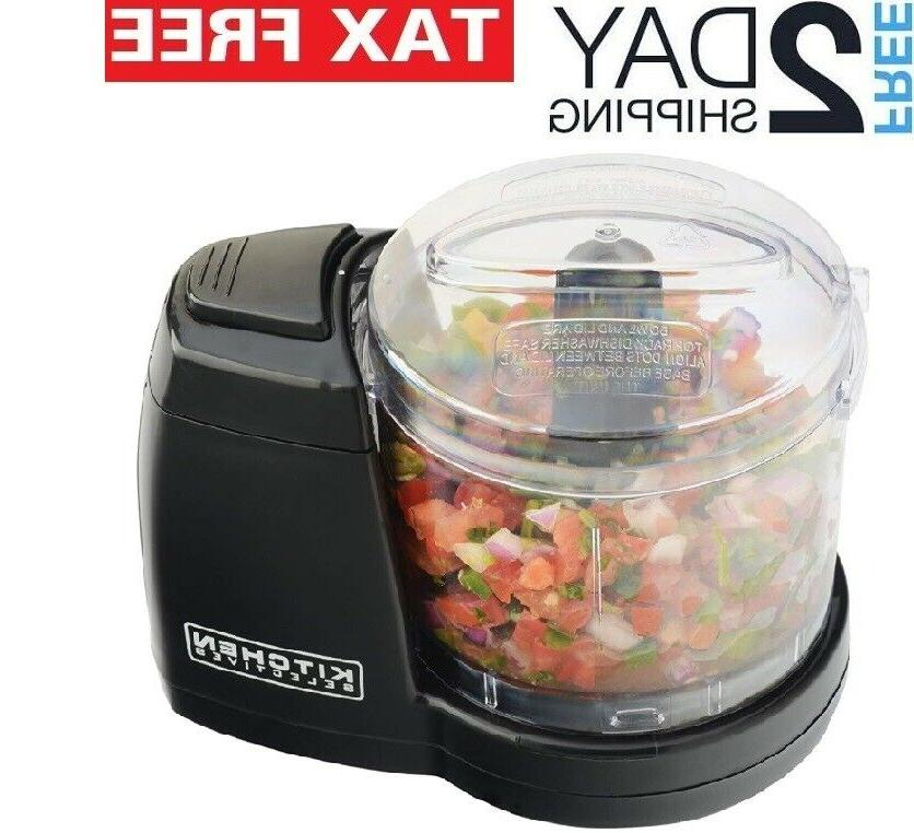 electric food chopper mini processor small compact