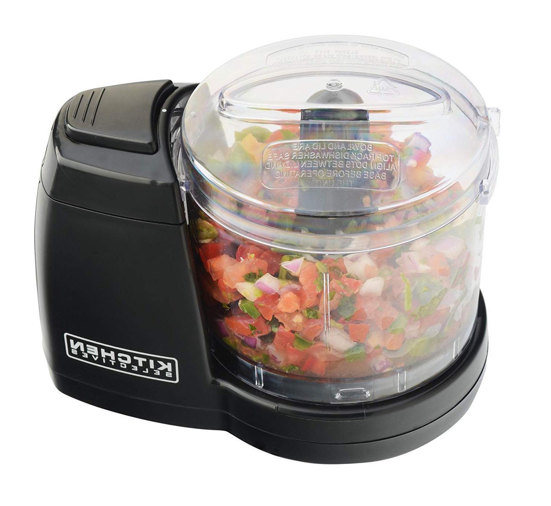 Electric Food Chopper Mini Processor Compact Onions