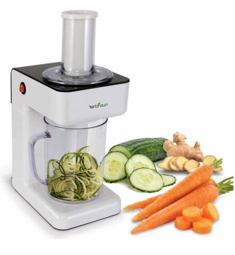 electric spiralizer 3 in 1 safe vegetable