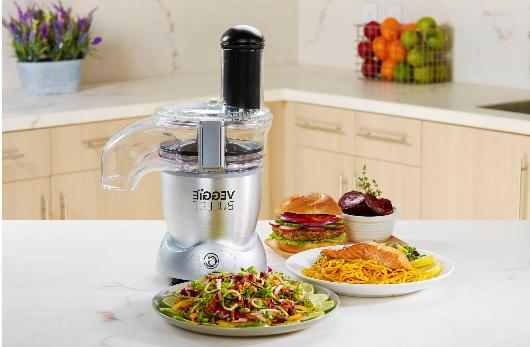 electric spiralizer and food processor