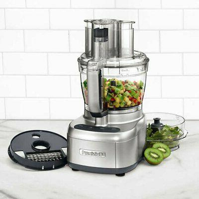 elemental 13 cup food processor with spiralizer