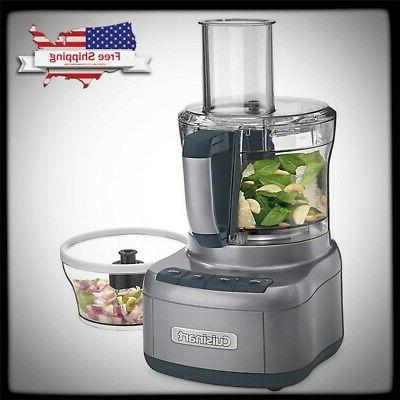 elemental 8 cup food processor electric