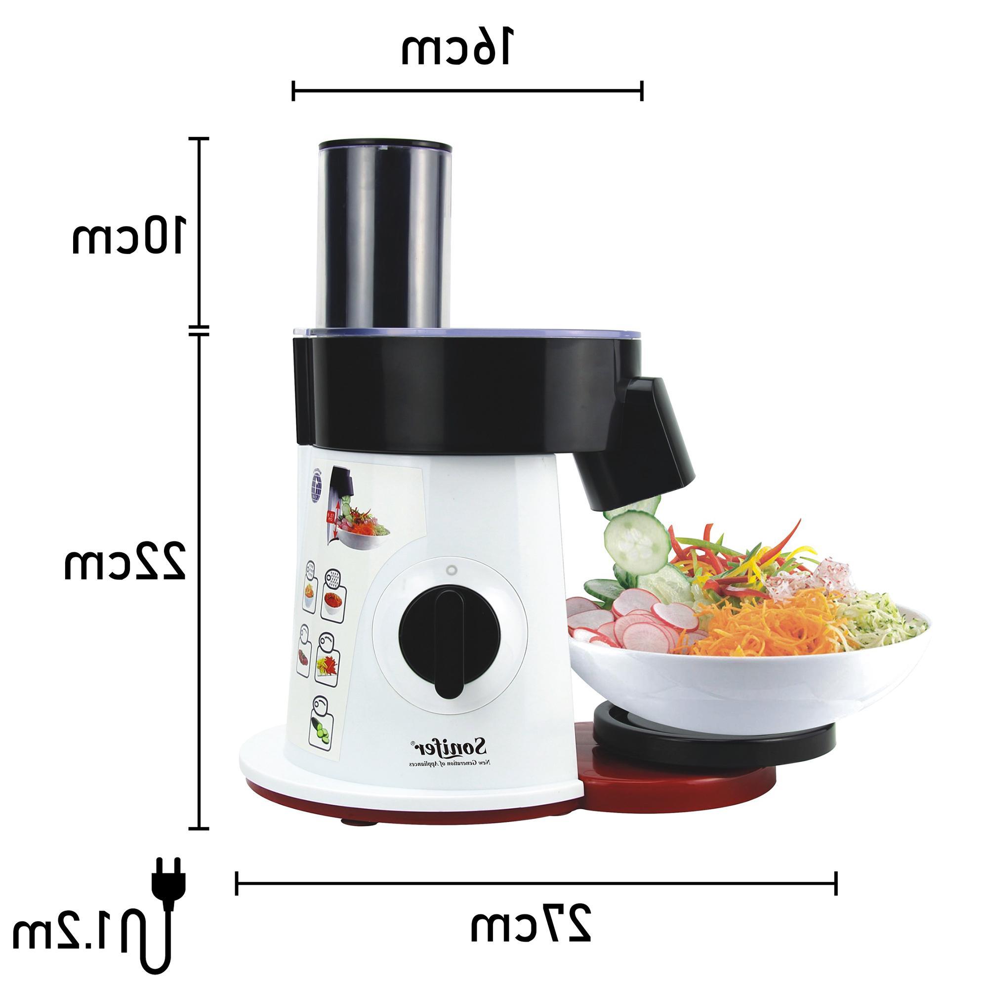 <font><b>Vegetable</b></font> <font><b>Slicer</b></font> Shredder <font><b>Vegetable</b></font> for Sonifer