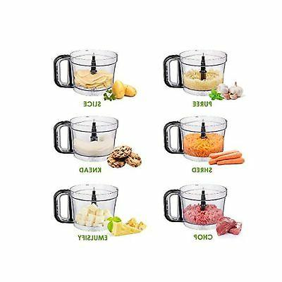 Food Aicok Food Processor Blender, Food Proc...