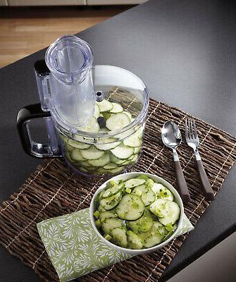 Plastic Food 500-W Motor 10-Cup Food