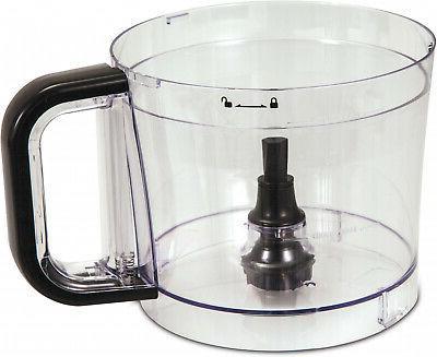 Plastic Processor 500-W Motor 10-Cup Capacity 2-Speed Food Chopper BPA-Free