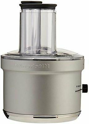 KitchenAid® Food Processor Stand Mixer Attachment with Dicing Kit