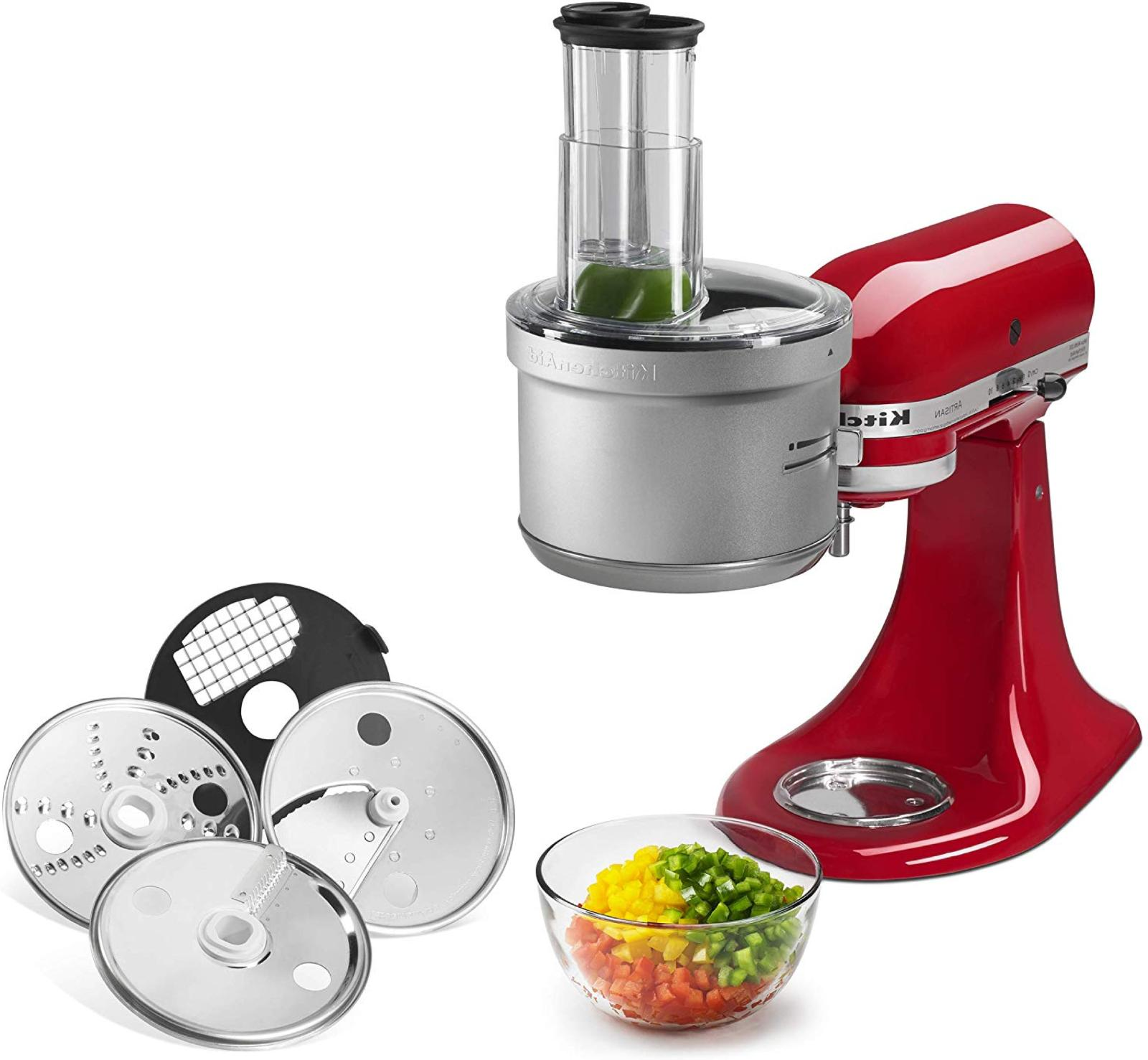 food processor with commercial style dicing kit