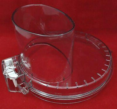 food processor work bowl cover