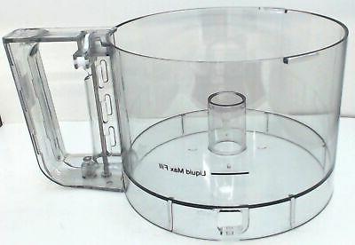 food processor work bowl
