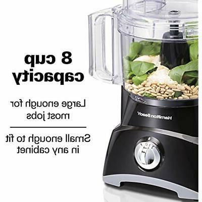 Food Processors Slicer Vegetable Chopper Storage, 8 Cups &amp