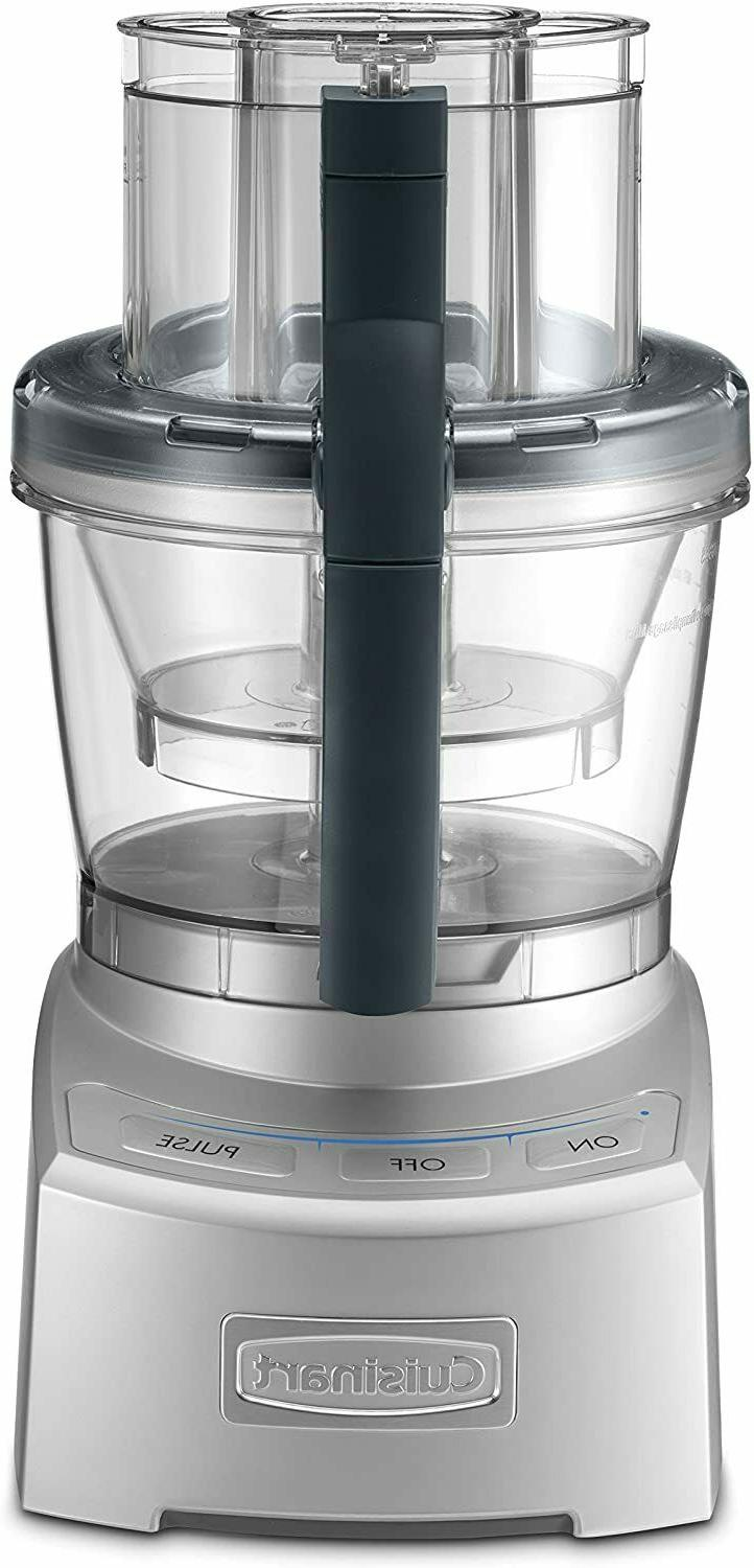 Cuisinart FP-12BCN Elite Collection Food Processor, Brushed