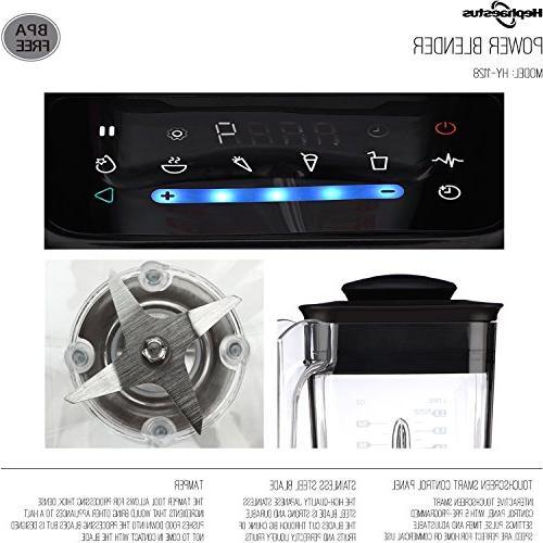 Speeds Mixer Processor Screen 70 1500 Watt, Black