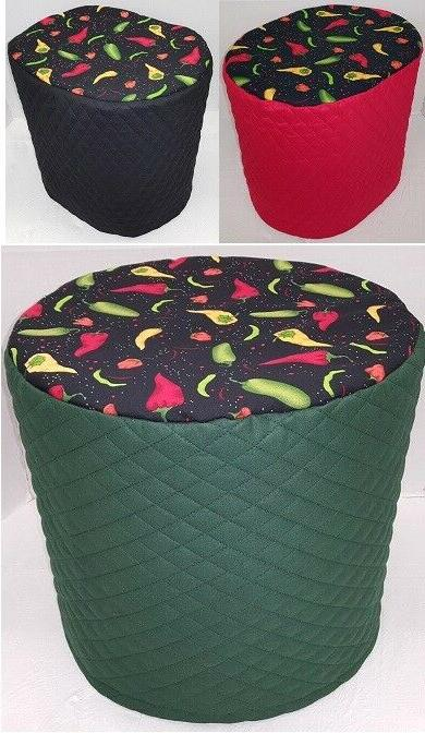 hot peppers food processor cover 2 sizes