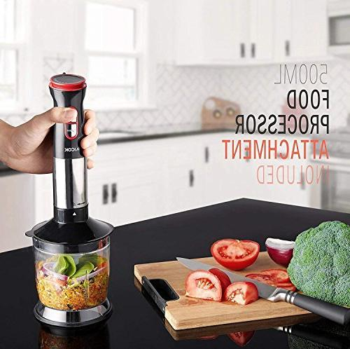 Hand 12 Speed Powerful Sets Soups Food Mixer