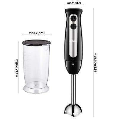 Immersion Hand Processor Mixer Stainless Steel 2-Speed