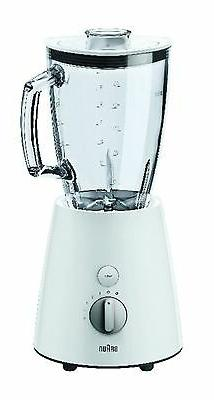 Braun JB3060 WS Tribute Collection Jag blender white / silve