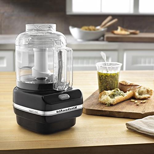 KitchenAid Chef Series 3- Cup Food Chopper, Onyx Black